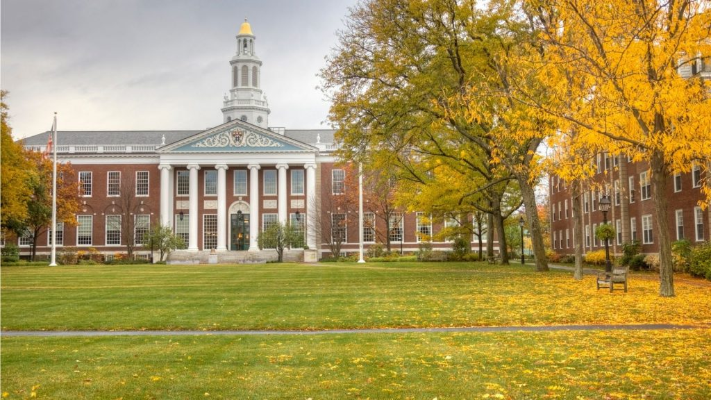 Ivy League - Universidade Harvard