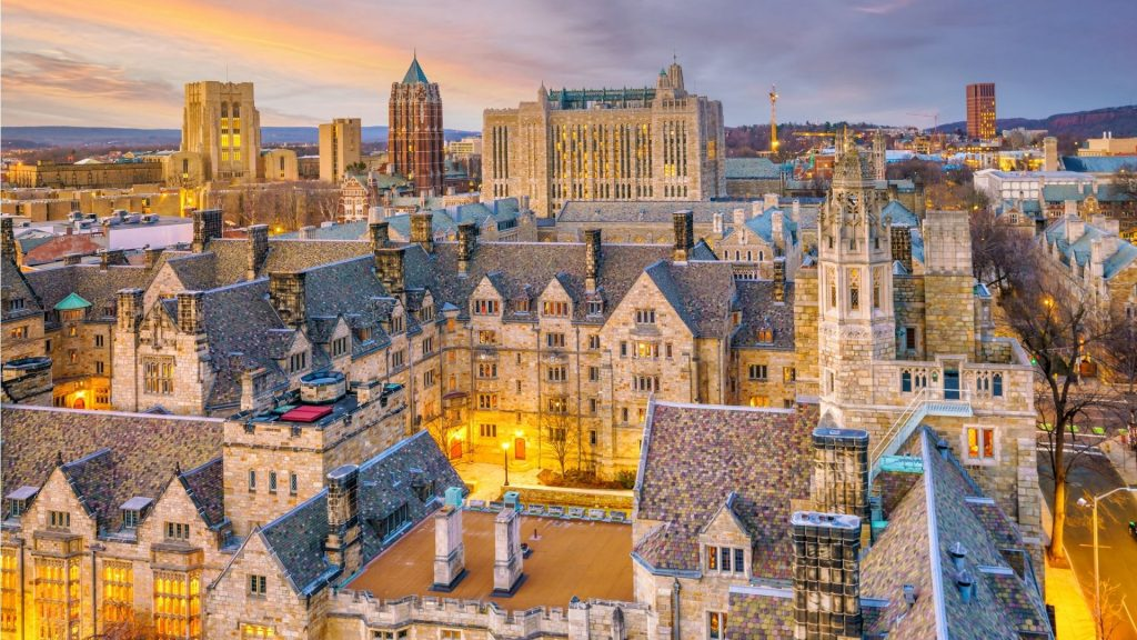 Ivy League Universidade de Yale